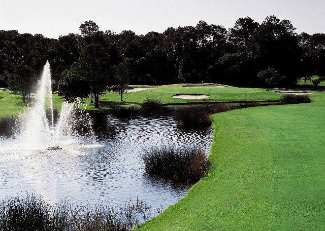 Magnolia golf course at Disney: 14th hole