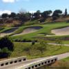 A view over a bridge at Bella Collina Golf Club