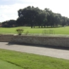 A view of the driving range at Orange Tree Golf Club