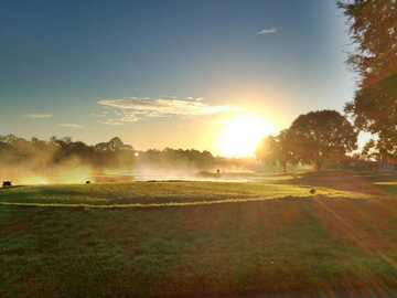 A sunny view from Deer Creek Golf & Tennis RV Resort