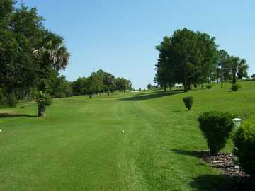 A view from a tee at Fisherman's Cove Golf & Marina