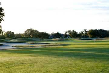 A morning view the 18th fairway at Forest Lake Golf Club of Ocoee