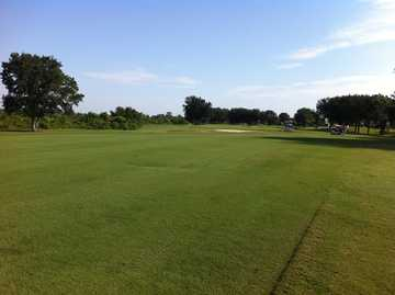 A view of a fairway at Monarch Golf Club from Royal Highlands