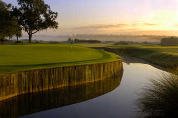 The 17th green at Grand Cypress Resort - New Course