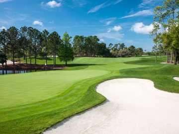 A view of hole #2 at Lake Nona Golf & Country Club.