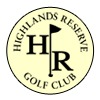 Highlands Reserve Golf Club Logo