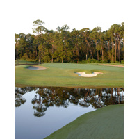One of Disney World's original courses, the Magnolia is home to the iconic Mickey ears bunker.