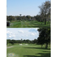 The tee shot on the eighth hole at Bay Hill Club & Lodge is more intimidating now because of a larger fairway bunker.