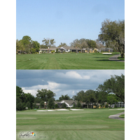 The fairway bunkers on the 10th hole at Bay Hill Club & Lodge were made larger.