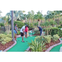There are multiple putt-putt golf courses at Orange Lake Resort in Kissimmee, Florida.
