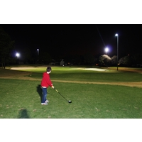 Legends Walks at Orange Lake Resort, a nine-hole course lighted for night play, is great for families and beginners.