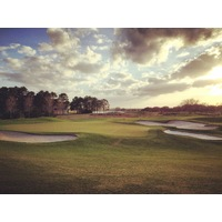 The 12th hole on Orange County National's Panther Lake Course is a 437-yard par 4.